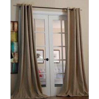Mae Linen Grommet 96-inch Curtain Panels
