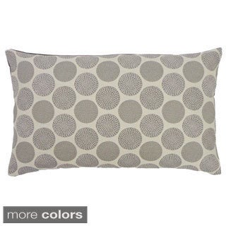 Rust or Grey Radius Throw Pillow