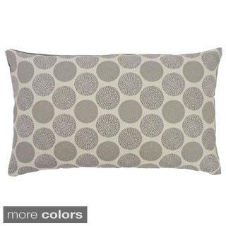 Rust or Grey Radius Throw Pillow