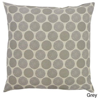 Grey or Rust Radius Throw Pillow