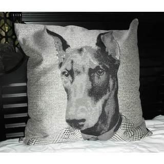 24-inch Alpha Dog Throw Pillow