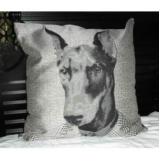 24-inch Alpha Dog Throw Pillow