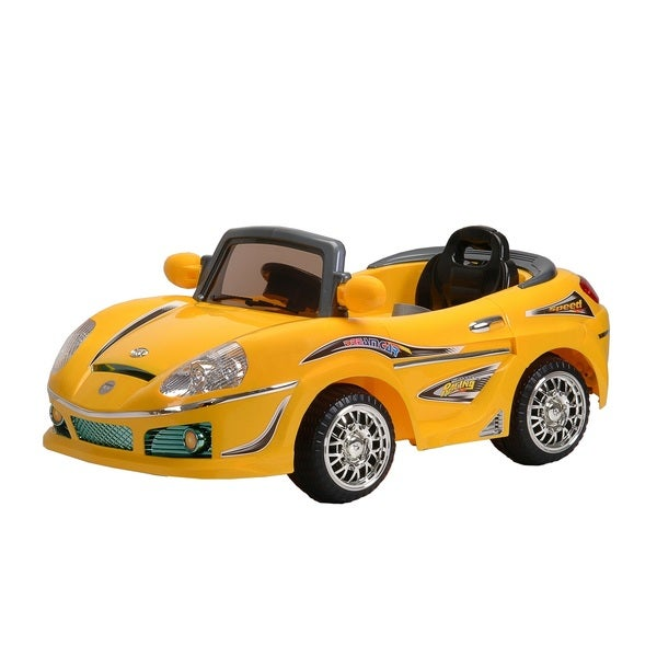 Best Ride On Cars Yellow Convertible Kids Ride-on Car