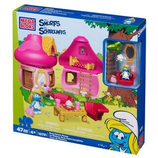 Mega Bloks Smurfs Smurfette's House Playset