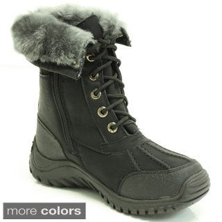 Apres by Lamo Womens 'Vanessa' Fleece Lined Cold Weather Boots