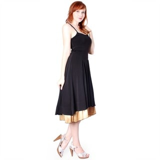 Evanese Women's Double Layered Cocktail Dress