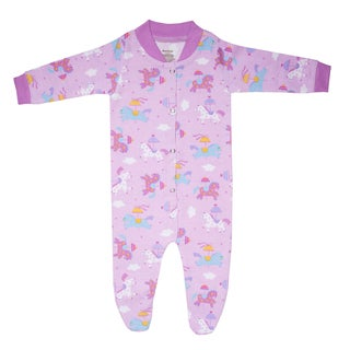 Funkoos Organic Cotton Sleepsuit in Carousel Pony