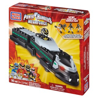 Mega Bloks Power Rangers Megaforce Snake Mechazord