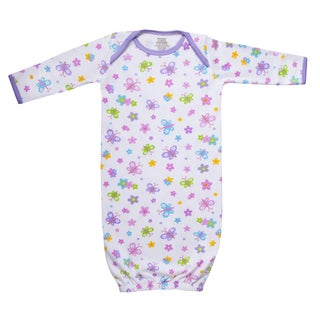 Funkoos Organic Cotton Sleep Gown in Butterfly Garden