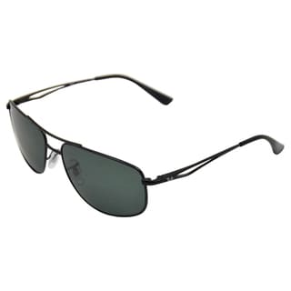 Ray Ban Men's 'RB3490 006/71' Matte Polarized Sunglasses