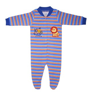 Funkoos Organic Cotton Sleepsuit in King of The Jungle