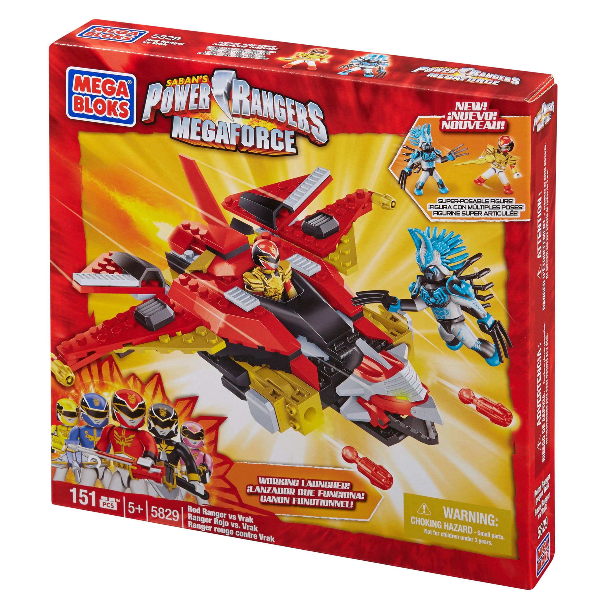 Mega Bloks Power Rangers Megaforce Red Ranger vs. Vrak at Sears.com
