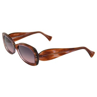 Lafont Women's 'Jamaique' 791-Purple Retro Sunglasses
