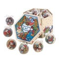 Country Snowman Ornament Box Set (Set of 12)