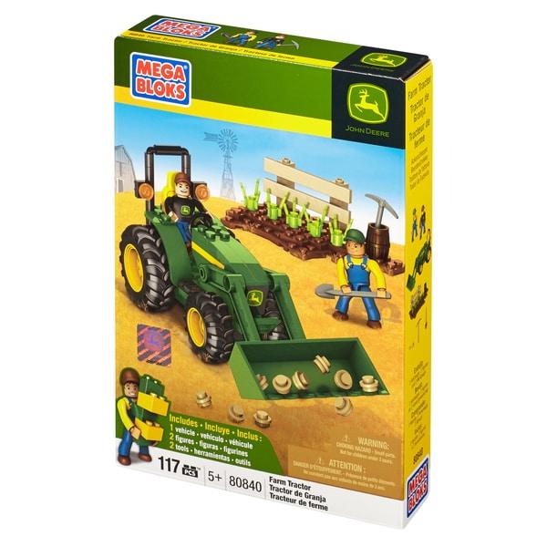 Mega Bloks Hometown John Deere Farm Tractor