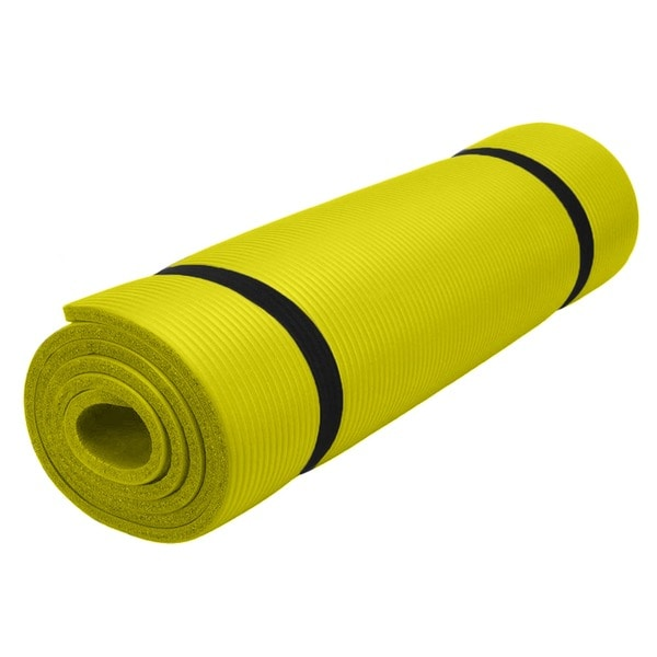 Pure Fitness Deluxe Lime Exercise Mat