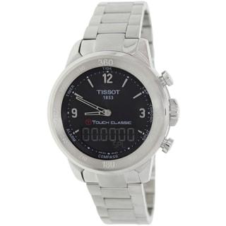 Tissot Men's T-Touch Silvertone Stainless Steel Watch