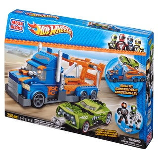 Mega Bloks Hot Wheels Urban Agent Stunt Rig