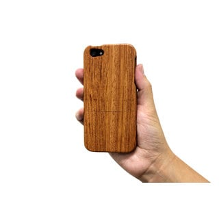 Wooden Apple iPhone Case