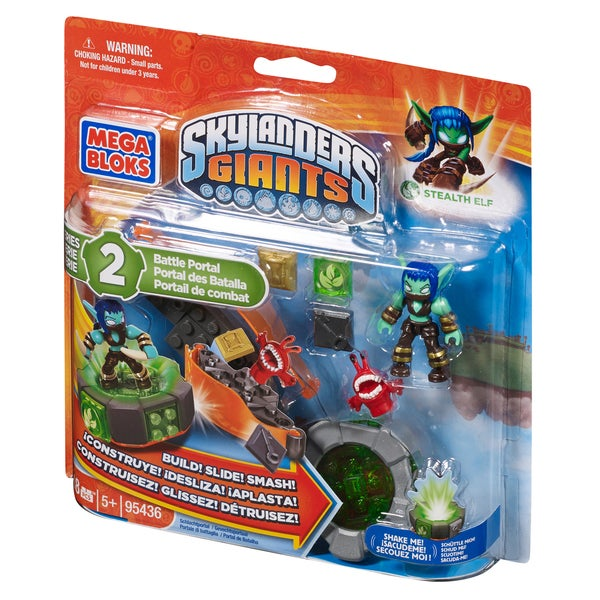 Mega Bloks Skylander Giants Stealth Elf's Battle Portal 11892461