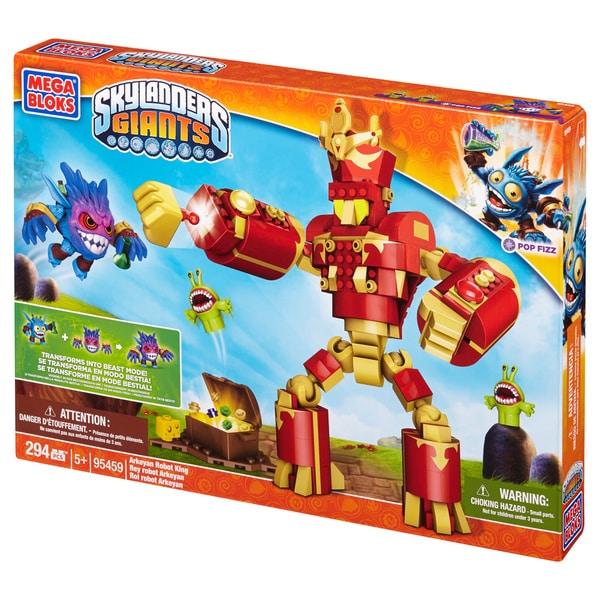 Mega Bloks Skylanders Giants Arkeyan Robot King 11892479