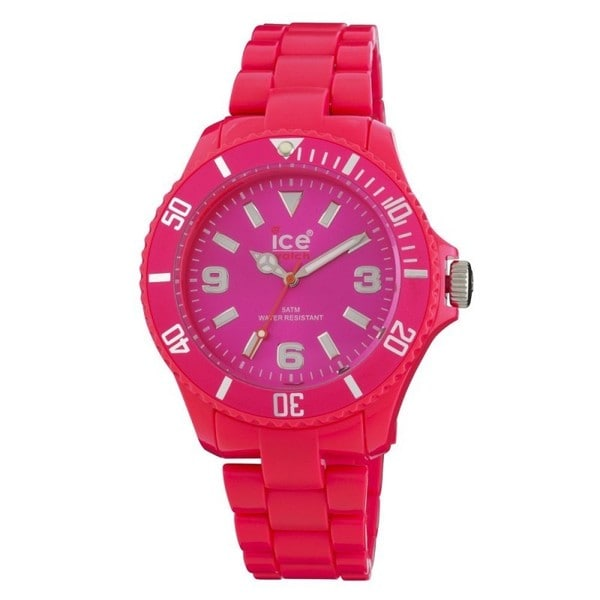 Ice Women's Classic Fluorescent Pink Watch