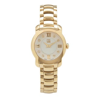 ESQ by Movado Women's 'Verona' Goldtone Watch