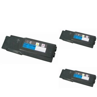 Insten Premium Cyan Color Toner Cartridge WC6605/ 106R02225 for Xerox Phaser 6600/ 6600dn