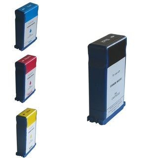 BasAcc Black/ Cyan/ Magenta/ Yellow 4-Ink Cartridge for Canon BCI-1413