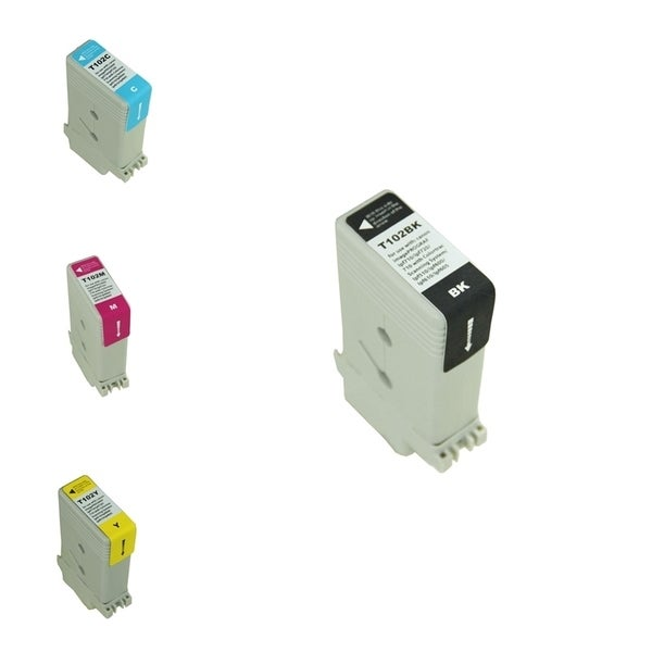 INSTEN 4-Ink Cartridge Set Compatible for Canon PFI102