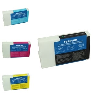 Epson T616100/ 200/ 300/ 400 4-Ink Cartridge Set (Remanufactured)