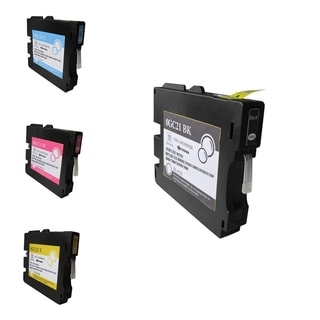 BasAcc 4-Ink Cartridge Set Compatible with Ricoh GC21/ GC21H