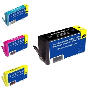 HP 564XL Black/ Cyan/ Magenta/ Yellow 4-Ink Cartridge Set (Remanufactured)