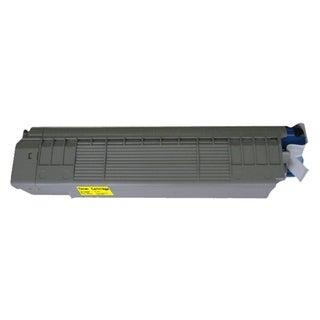 Insten Premium Yellow Color Toner Cartridge 43487733 for OKI 8800/ C8800n