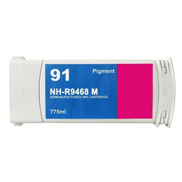INSTEN HP 91 Magenta Ink Cartridge (Remanufactured)
