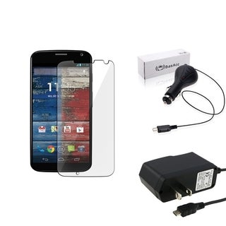 BasAcc Protector/ Travel Charger/ Car Charger for Motorola Moto X