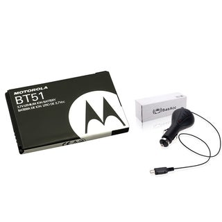 BasAcc Car Charger/ Standard Battery for Motorola W755/ W385
