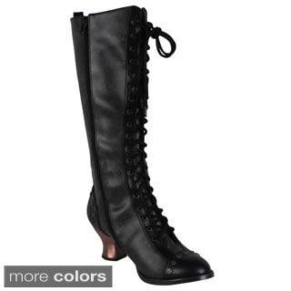 Hades Women's 'Dome' Retro Knee High Boots