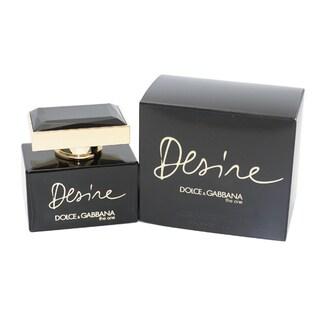 Dolce & Gabbana The One Desire Women's 1.6-ounce Eau de Parfum Intense Spray