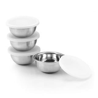 Cook N Home 8-piece Stainless Steel Pinch Bowl Set
