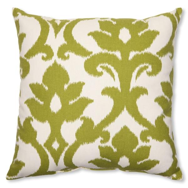 Pillow Perfect 'Azzure Kiwi' 18-inch Throw Pillow