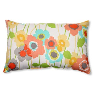 Pillow Perfect 'Pic-A-Poppy' Seaglass Rectangular Throw Pillow
