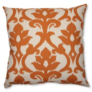 Pillow Perfect 'Azzure Tangerine' 23-inch Throw Pillow