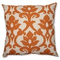 Pillow Perfect 'Azzure Tangerine' 23-inch Floor Pillow