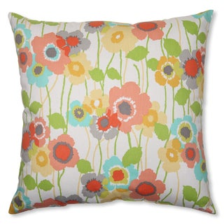 Pillow Perfect 'Pic-A-Poppy' Seaglass 23-inch Throw Pillow