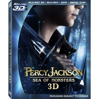 Percy Jackson: Sea of Monsters 3D (Blu-ray/DVD)