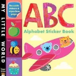 ABC Alphabet Sticker Book (Paperback)