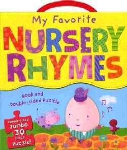 My Favorite Nursery Rhymes Book and Puzzle Set