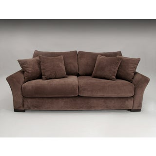Prague Chocolate Brown Sofa