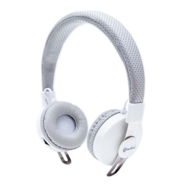Connectland White/ Grey Bluetooth v2.1 EDR Wireless Headphone with Microphone